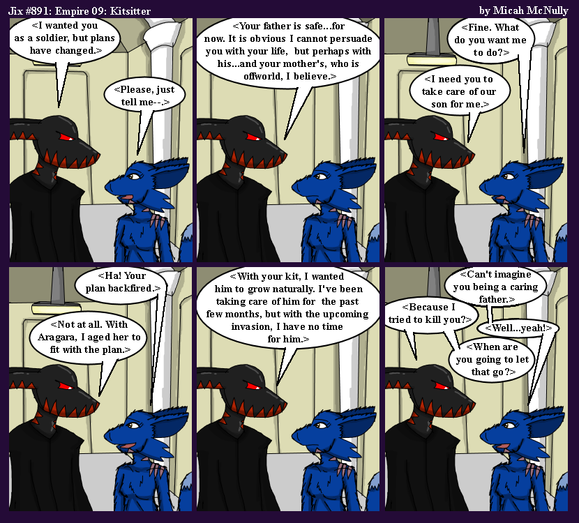 891. Empire 09: Kitsitter