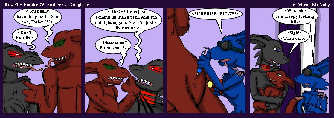 909. Empire 26: Father vs. Daughter