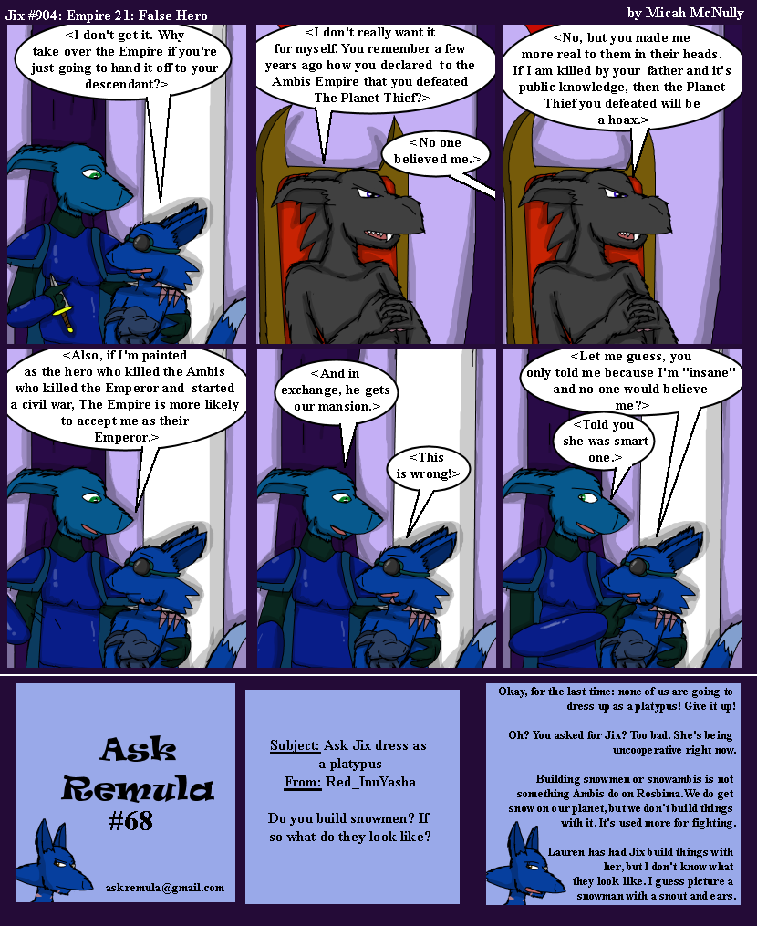 904. Empire 21: False Hero (With Ask Remula #68)