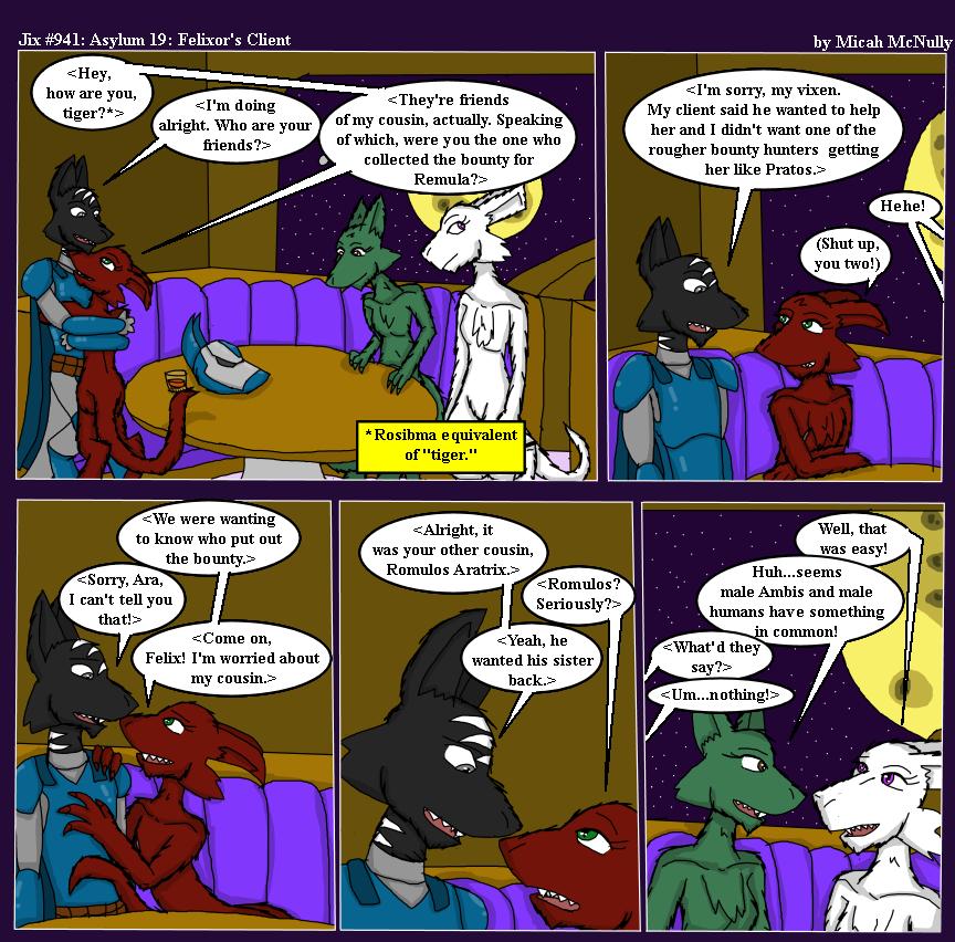 941. Asylum 19: Felixor's Client