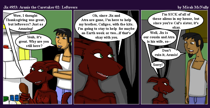 953. Aranis the Caretaker 02: Leftovers