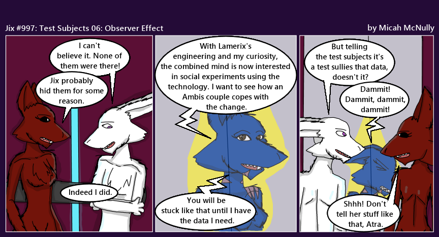 997. Test Subject 06: Observer Effect