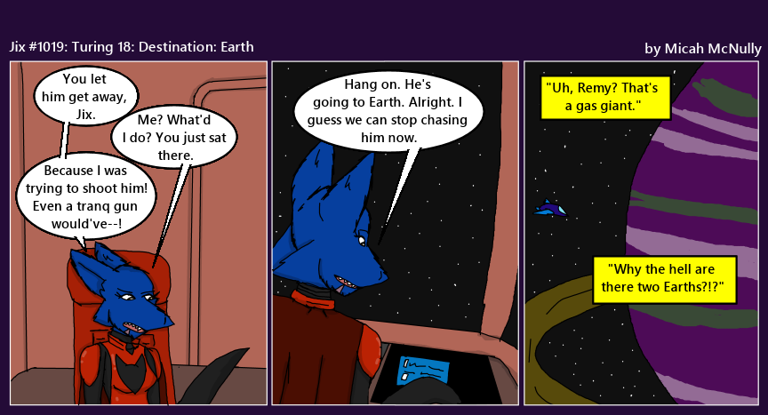 1019. Turing 18: Destination: Earth